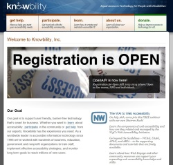 website - knowbility