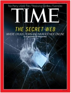 dark web - Time cover